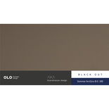 Black Out Sommar Acrilico 08102 (Marron) (Ancho 2,50 Mts) Olo