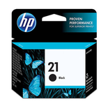 Cartucho De Tinta Original Hp 21 Black