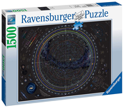 Ravensburger 16213 Puzzle X 1500 Map Of The Universe