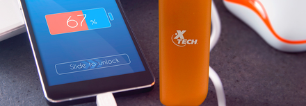 POWER BANK X-TECH  XTG-217 DE 2600 mAh