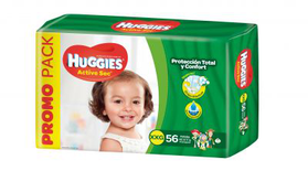 Huggies Active Sec Xxgx56