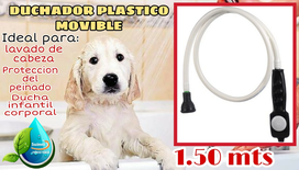 Duchador Plastico Movible 1.50 Mts