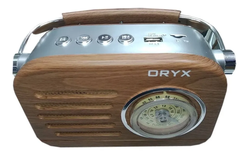Radio Retro Vintage Usb Bluetooth Recargable Sp-7150 Oryx