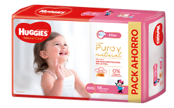 Huggies Natural Care Ellas Xgx56