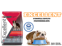 Excellent Adulto Formula 20kg.
