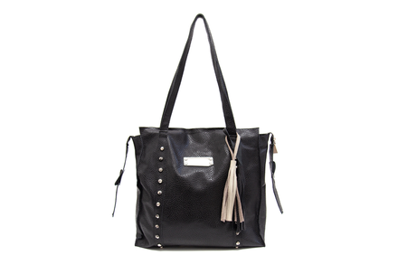 Cartera Malaquita Floater Negro