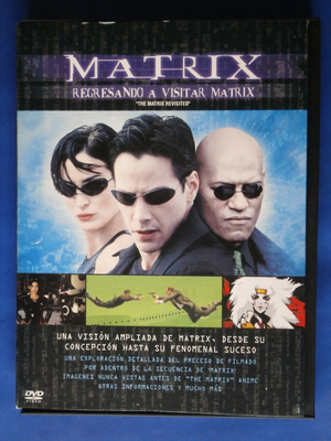 MATRIX REVISITED (REGRESANDO A VISITAR MATRIX) DVD DOCUMENTAL