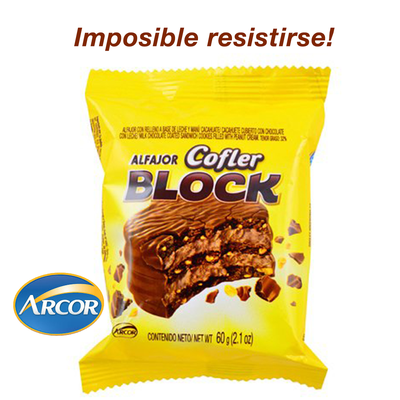 Alfajor Triple Cofler Block 60gr
