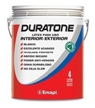 Duratone Latex Int-Ext X 4l