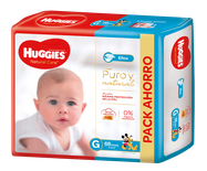 Huggies Natural Care Ellos Gx68
