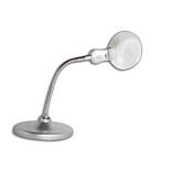 Lampara Con Lupa Y Luz De Led Brazo Flexible Daza 80114