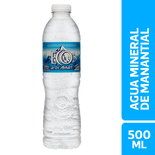 Aguas 500 Ml. Con Gas Y Sin Gas