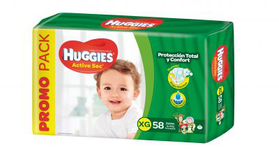 Huggies Active Sec Xgx58