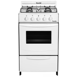 Cocina A Gas Ecorial Candor 51cm Gas Natural