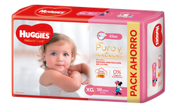 Huggies Natural Care Ellas Xgx58