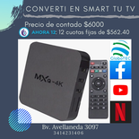 Conversor Smart Tv Box 4k Ultra Hd 5g
