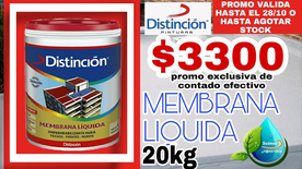 Membrana Liquida 20kg Distincion