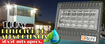 Reflectores Led 100w