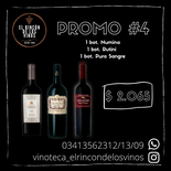 3 Botellas Alta Gama