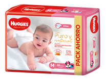 Huggies Natural Care Ellas Mx68