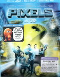 Pixels Ed. Especial 2 Discos: Bluray 3d+Bluray+Digital Download
