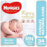 Huggies Natural Care Rnx34