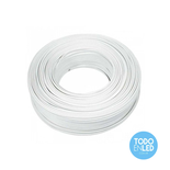 Cable Paralelo Bipolar Blanco 2 X 2,5 Mm X 100 Mts