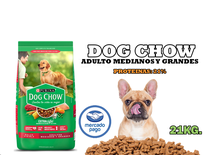 Dog Chow Adulto Medianos Y Grandes 21kg.