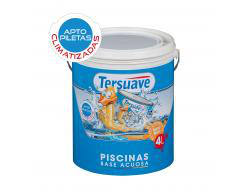 Piscinas Base acuosa Mate x 4 lts (Color Azul/Bco)