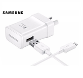 "Kit Cargador Con Cable Microusb Samsung ""Adaptive Fast Charging"""