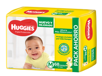 Huggies Classic Promo Pack Mx68