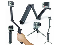 Baston Tripode Selfie Stick Go Pro Sumergible 3 Way