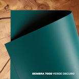 Lona Sembra 7000 - Verde Oscuro Ancho 2,20 Mts