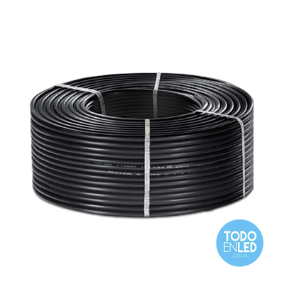 Cable Envainado Redondo tipo TPR 3x6mm X 100mts